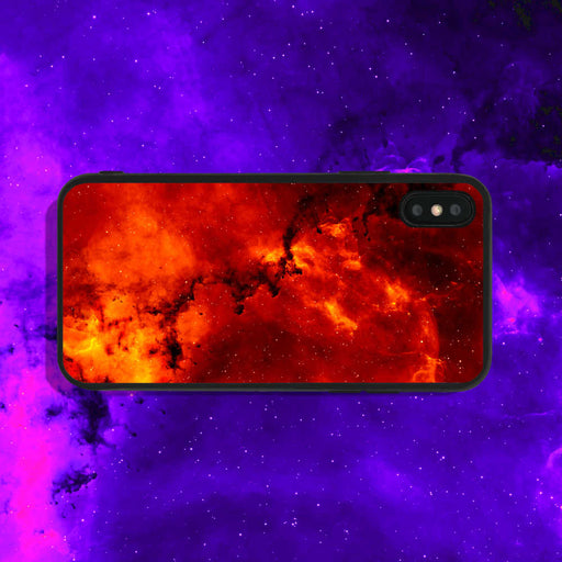 Red Galaxy Phone Case