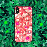 Red Leaves Phone Case