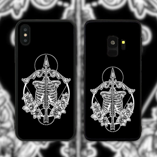 Sagittarius Black Phone Case