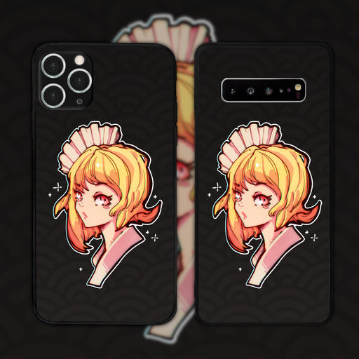Seigaiha Wave by Inkytophat Phone Case