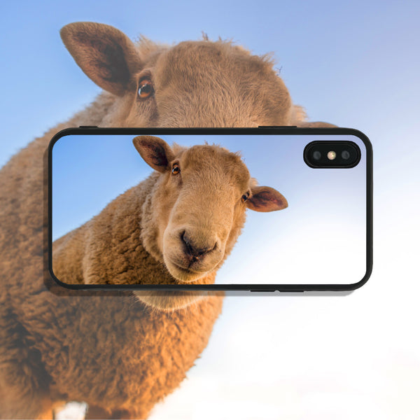 Sheep Staring Down Phone Case