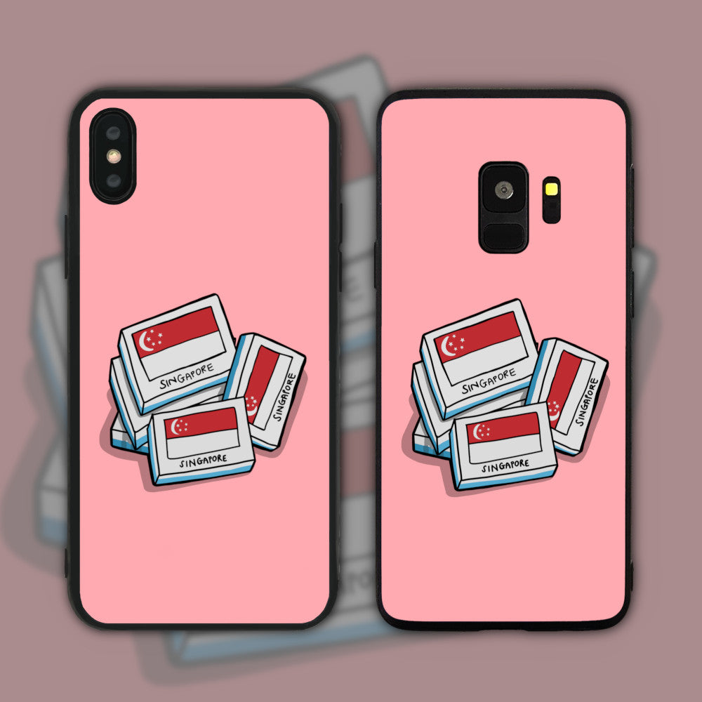 Singapore Eraser Phone Case