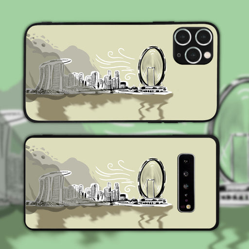 Singapore Flyer Blows Away The Haze Phone Case