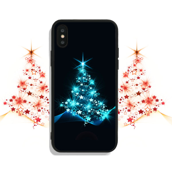 Sparkling Christmas Tree Phone Case