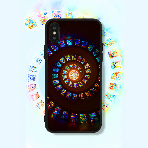 Stained Spiral Phone Case