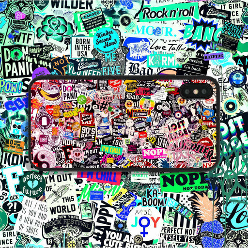 Sticker Collage Phone Case