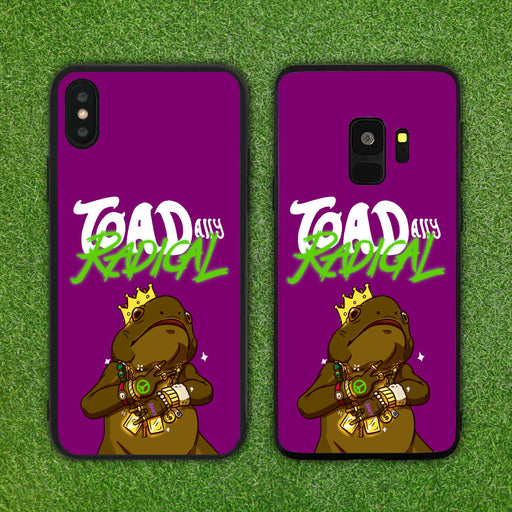 TOADally (Totally) Radical Phone Case