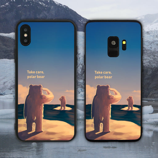 Take Care Polar Bear Phone Case