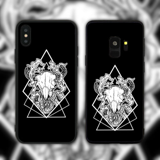 Taurus Black Phone Case