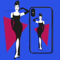 The Beauty of a Woman is Seen in Her Eyes Phone Case