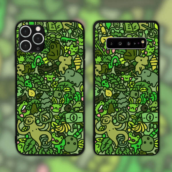 The Green by Dminky Phone Case
