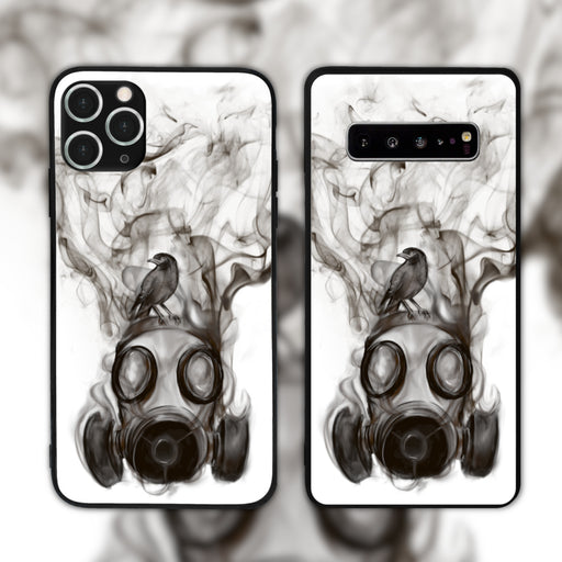The Myna And The Gas Mask Phone Case