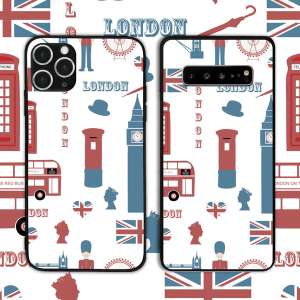 UK - London Attractions 3 Phone Case