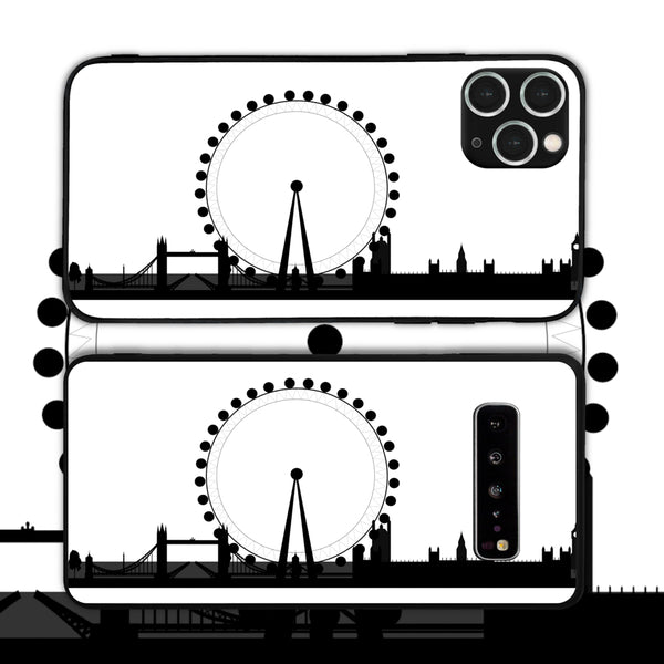 UK - London Attractions 4 Phone Case