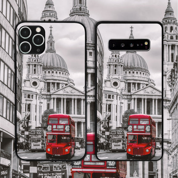 UK - London Bus Phone Case