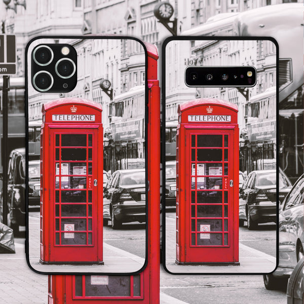 UK - London Telephone Booth 1 Phone Case