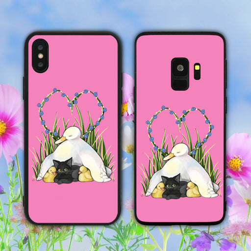 Undiscriminating Protector Pink Phone Case
