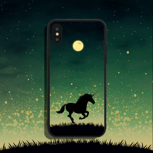 Unicorn Under Starry Sky Phone Case