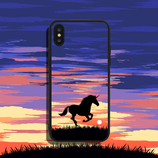 Unicorn in Sunset Phone Case