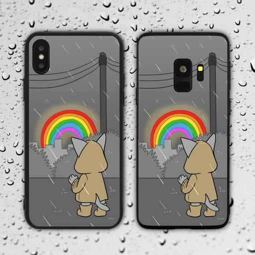 When It Rains Look For Rainbows Phone Case