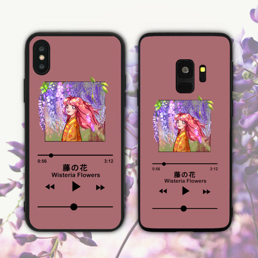 Wisteria Flowers Phone Case