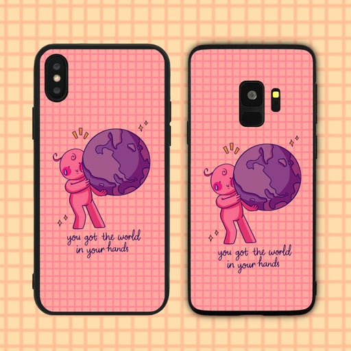 You Got The World In Your Hands Phone Case