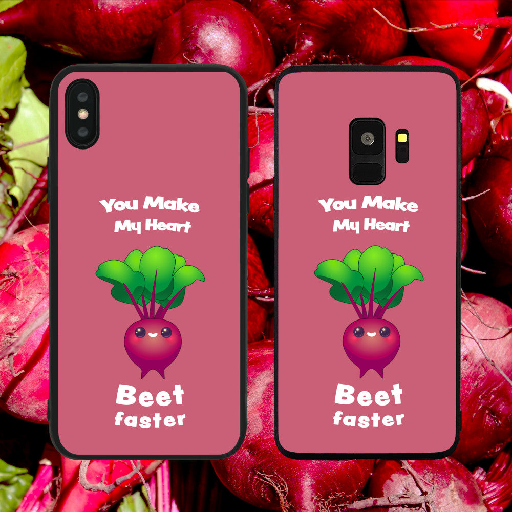 You Make My Heart Beet (Beat) Faster Phone Case