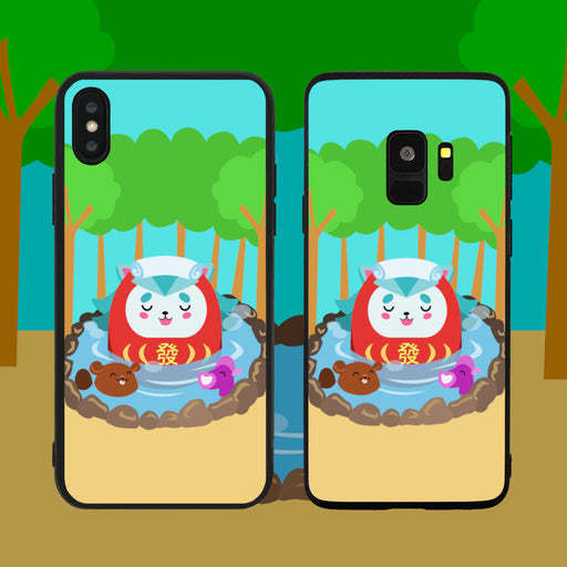 Merlion In Spa Phone Case