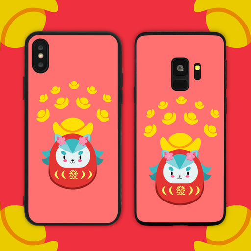 Gold Merlion Phone Case