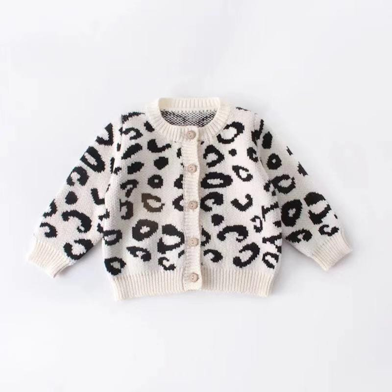 Baby Girl Long Sleeve Knitted Wave Two-Piece Set