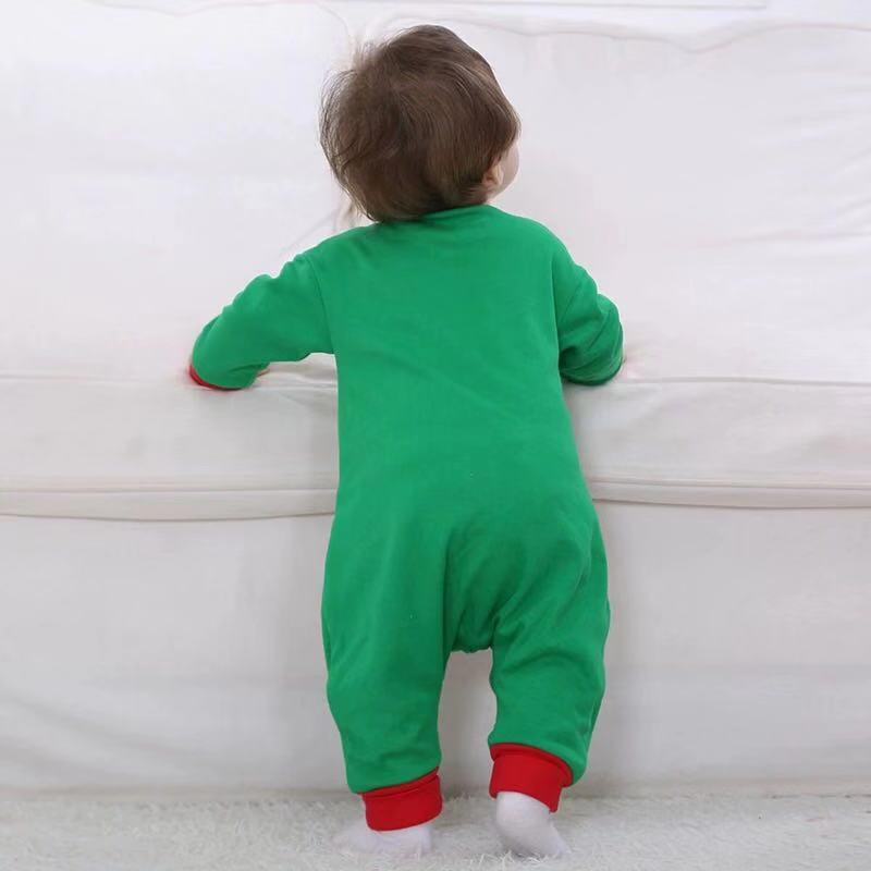 Christmas cotton jumpsuit