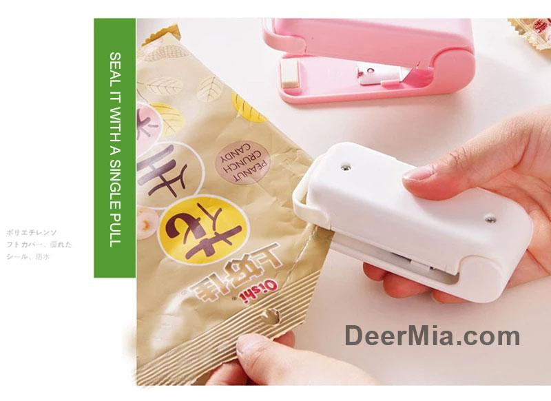 Home Assistant - Portable Bag Clip Mini Electronic Sealing Machine