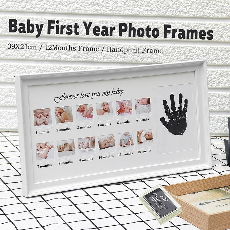 Baby's First Year Photo Frame