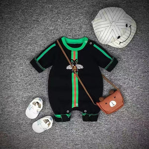 Baby Boy / Girl Luxury Long Sleeve Cotton Jumpsuit