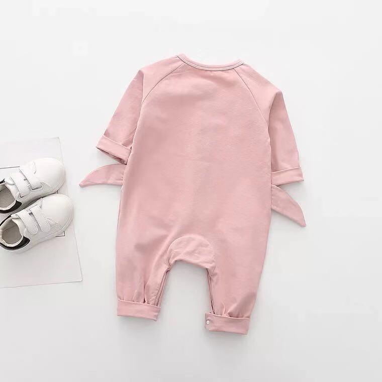 Baby Boy / Girl Shark Style Long Sleeve Jumpsuit