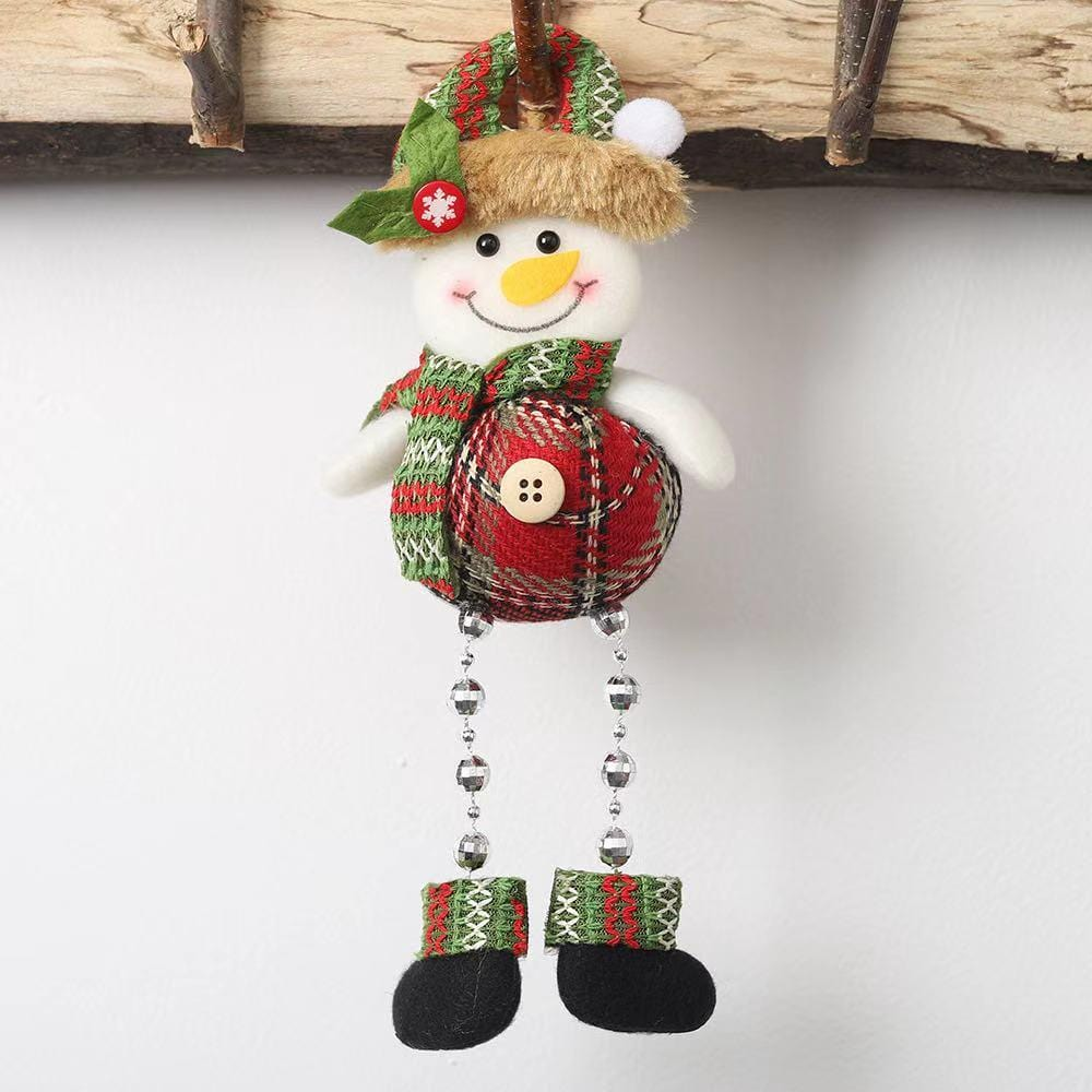 Christmas Decorations - Christmas Doll Pendant-3-piece set