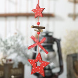 Christmas Decorations - Wooden Christmas Creative Pendant