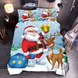 Christmas bedding three z styles - three sets of Christmas bed