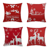 Christmas Decorations - Christmas Sofa Pillowcase