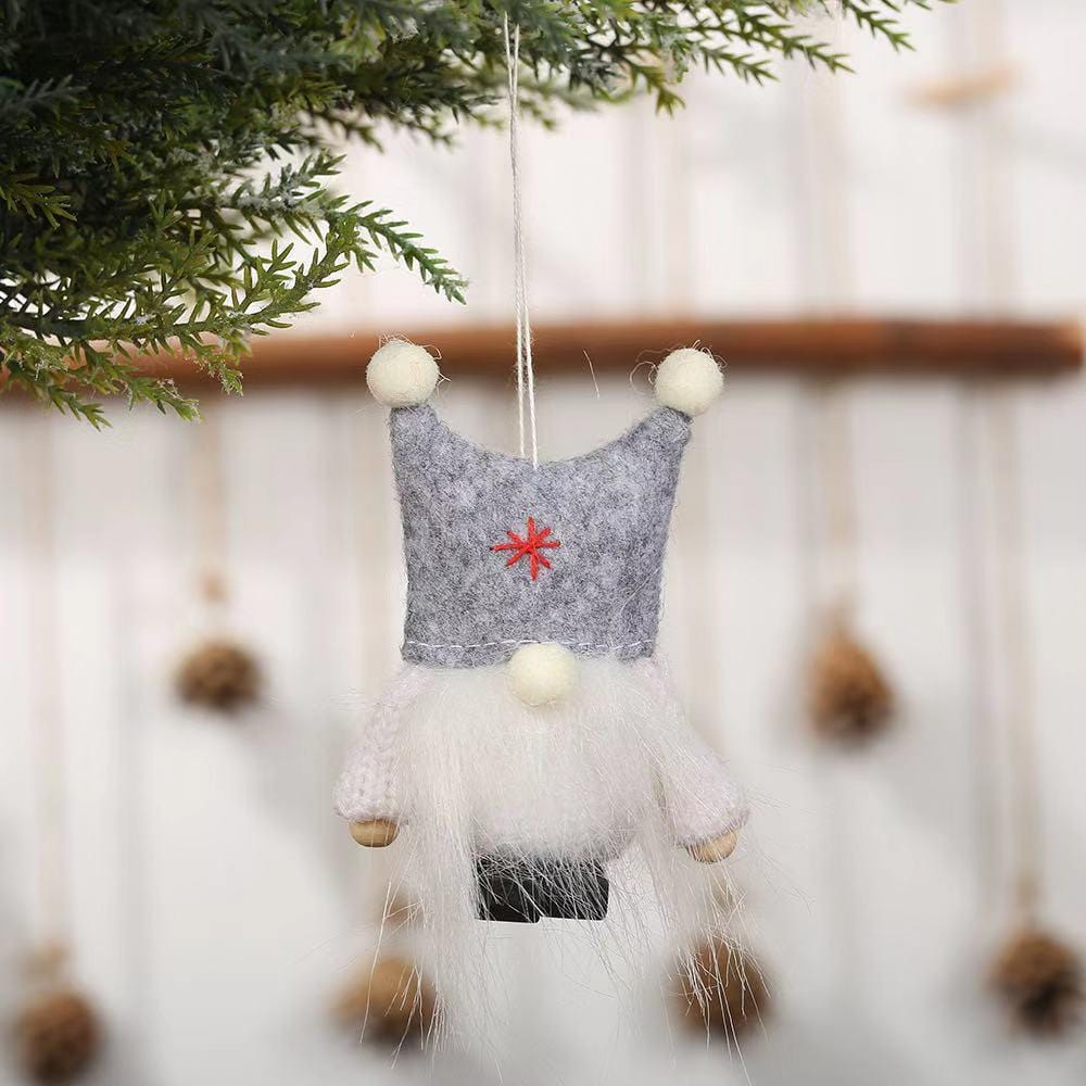 Christmas Decorations - Cartoon Doll Christmas Pendant