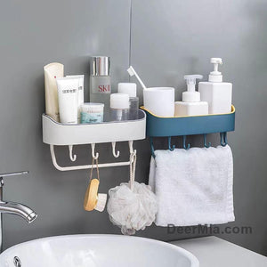 Strong Adhesive Wall Shelf Rack-Home Supplies
