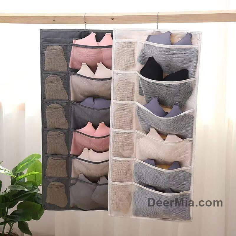 Double-sided storage bag (bra + panties + socks + sundries)