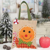 Christmas Decorations - Embroidered Cartoon Candy Gift Bag