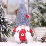Christmas Decorations - Forest People Faceless Dolls Children's Gifts-2-piece set