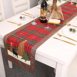 Christmas Decorations - Plaid Elk Small Tree Table Mat