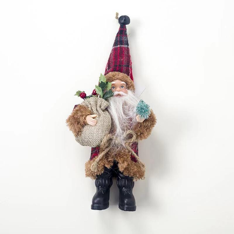 Christmas Decorations - Mini Santa Claus Figurine