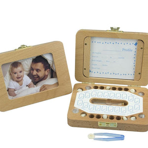 Photo Frame Fetal Hair Deciduous Tooth Box