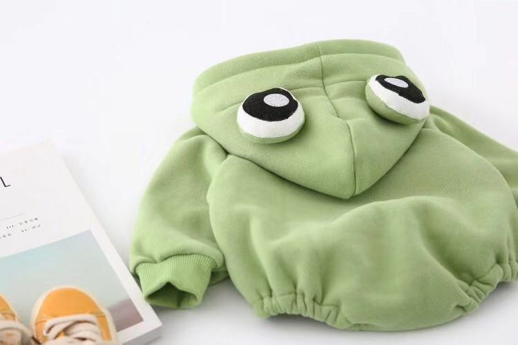Baby Boy / Girl Cute Animal Frog Jumpsuit