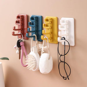 Swivel Wall Adhesive Hook-Homeware