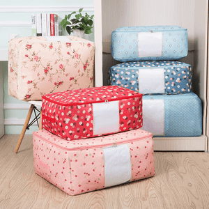 Fresh Printed Zipper Storage Bag-Homeware